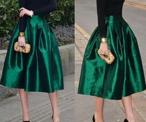 classy, outfits, and green image