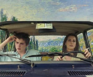 monet, call me by your name, and timothee chalamet image