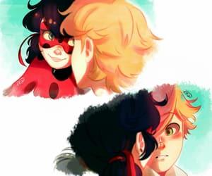 Chat Noir and ladybug image