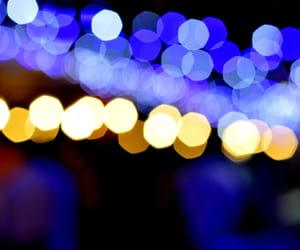 background, blue, and blurred lights image