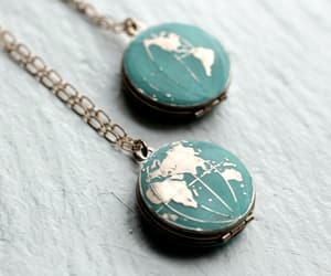 necklace, world, and jewelry image