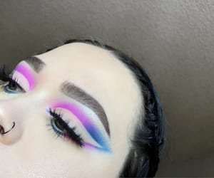 aesthetic, blue eyes, and eyebrows image