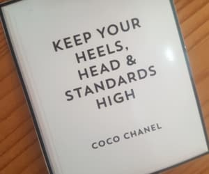 chanel, coco, and heels image