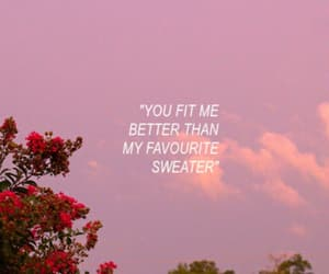 quotes, aesthetic, and pink image