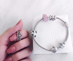 accessories, bracelet, and pandora image