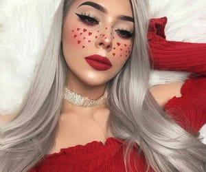 makeup, style, and girl image