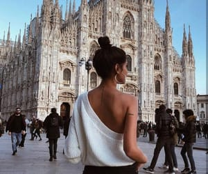 fashion, milan, and style image