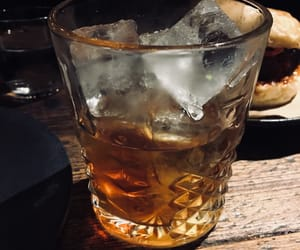 drink, old fashioned, and whiskey image