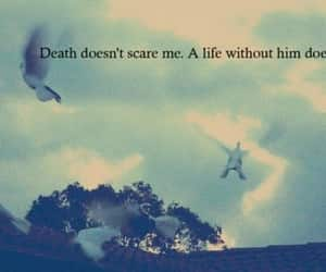 quotes, death, and love image