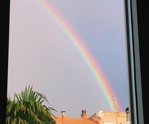 arcoiris, ventana, and city image