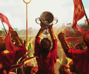 harry potter, gryffindor, and quidditch image