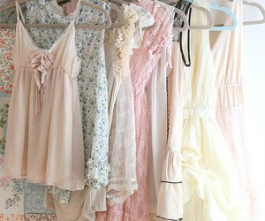 dress, pastel, and clothes image