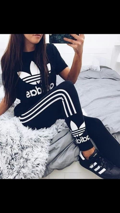 adidas, moda, and nike image