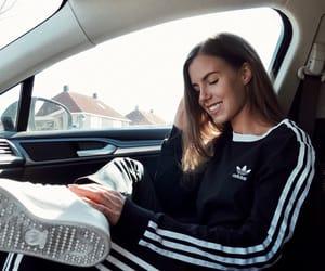 adidas, black, and car image