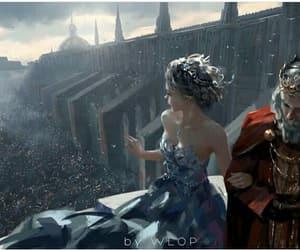 fantasy, princess, and king image