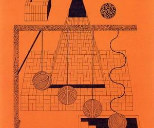 illustration and orange image
