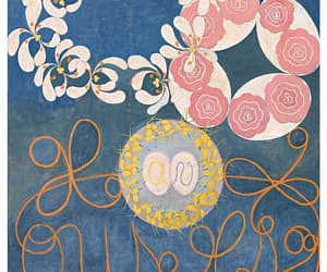 painting, hilma af klint, and woman image