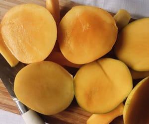 fruit, food, and mango image
