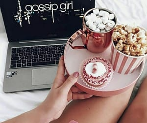 gossip girl, food, and drink image