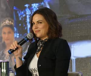 evil queen, lana parrilla, and once upon a time image
