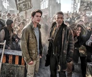 the maze runner and dylan o'brien image