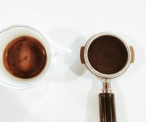 caffeine, doppio, and coffee image