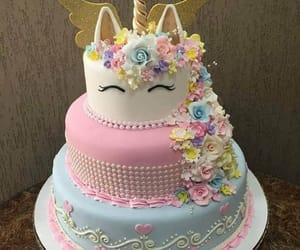 birthday, blue, and pastel image