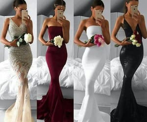 bouquet, fashion, and sexy image