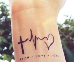 faith, hope, and inked image