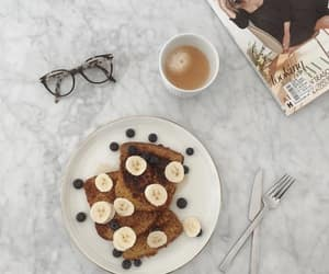 breakfast, marble table, and brunch image