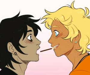 solangelo, nico, and will image
