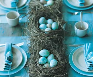 easter, blue, and spring image