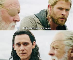 Marvel, thor, and odin image