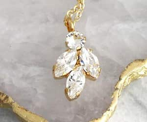 bridal jewelry, fashionista, and necklace image