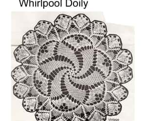 crochet, doilies, and pattern image