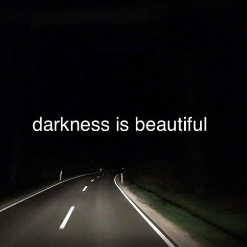 article, depressed, and Darkness image