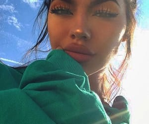 pretty girl, tumblr inspo, and makeup goals image