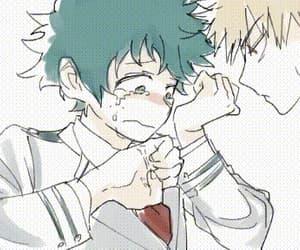 gif, anime couple, and anime boy image