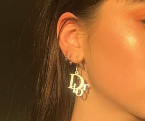 dior, aesthetic, and earrings image