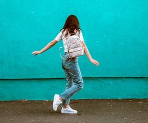 backpack, bohemian, and fashion image