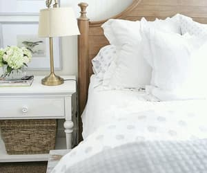 sleeping tired, pure fresh, and white home house image