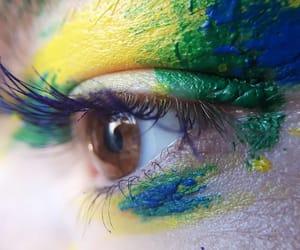 aesthetic, eyes, and green eyes image