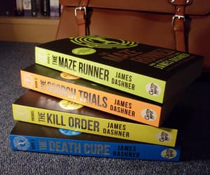 book and maze runner image