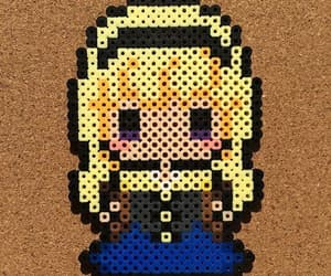 beads, pixel, and pattern image
