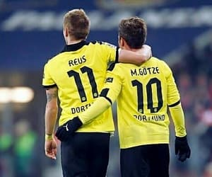 marco reus, mario gotze, and germany image