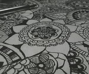 arte, blanco y negro, and sencillo image