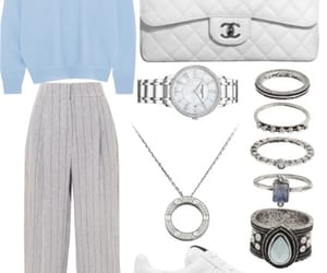 cartier, chanel, and outfit image