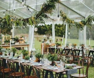 florals, flowers, and outdoor wedding image