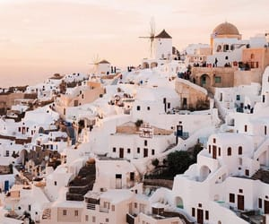 aesthetic, buildings, and Greece image