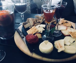 cheese, sangria, and sunday afternoon image
